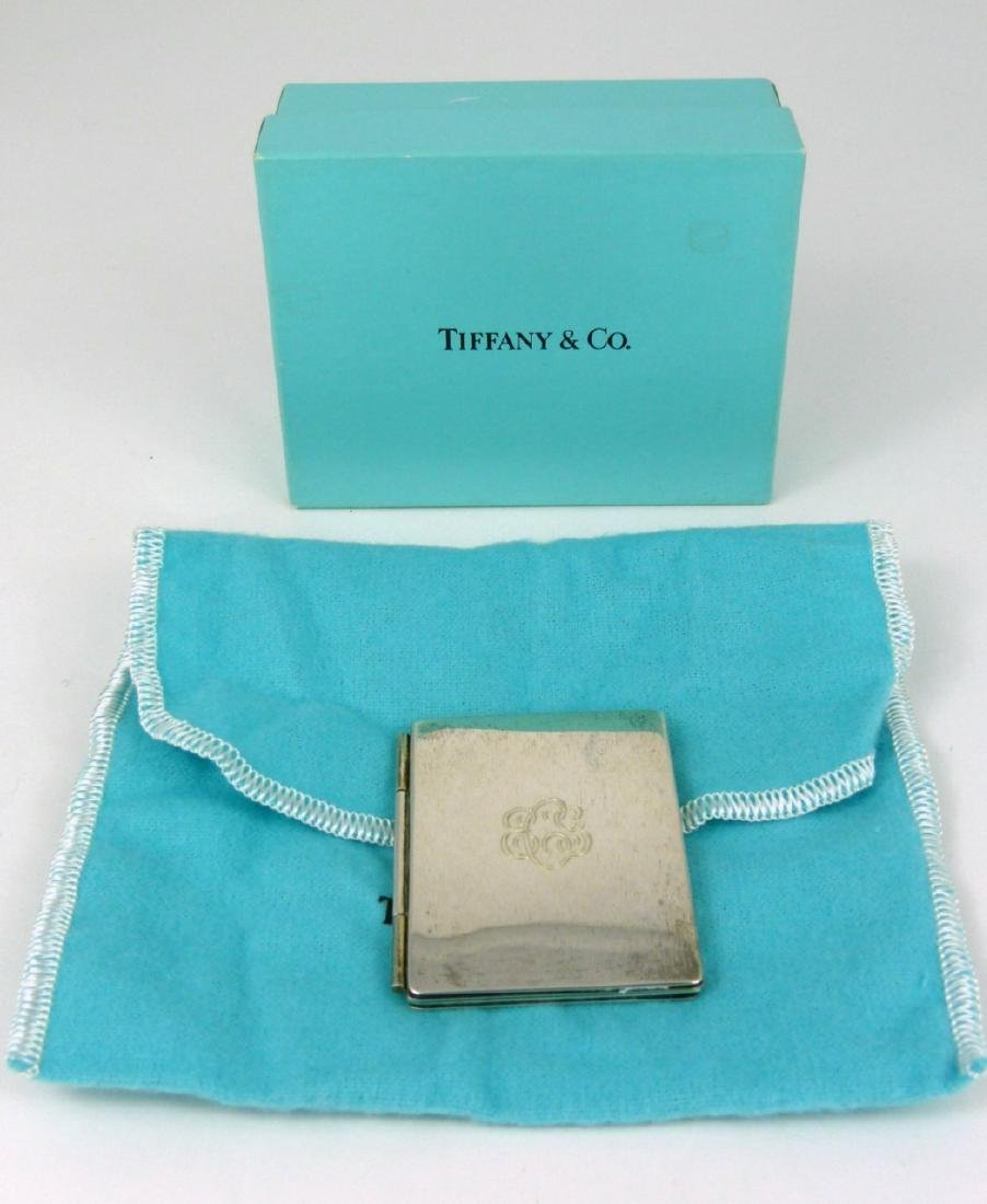 TIFFANY & CO STERLING SILVER PICTURE FRAME - 6
