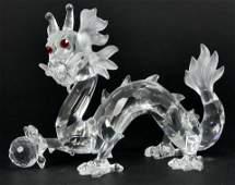 SWAROVSKI 'DRAGON' FABULOUS CREATURES w BOX