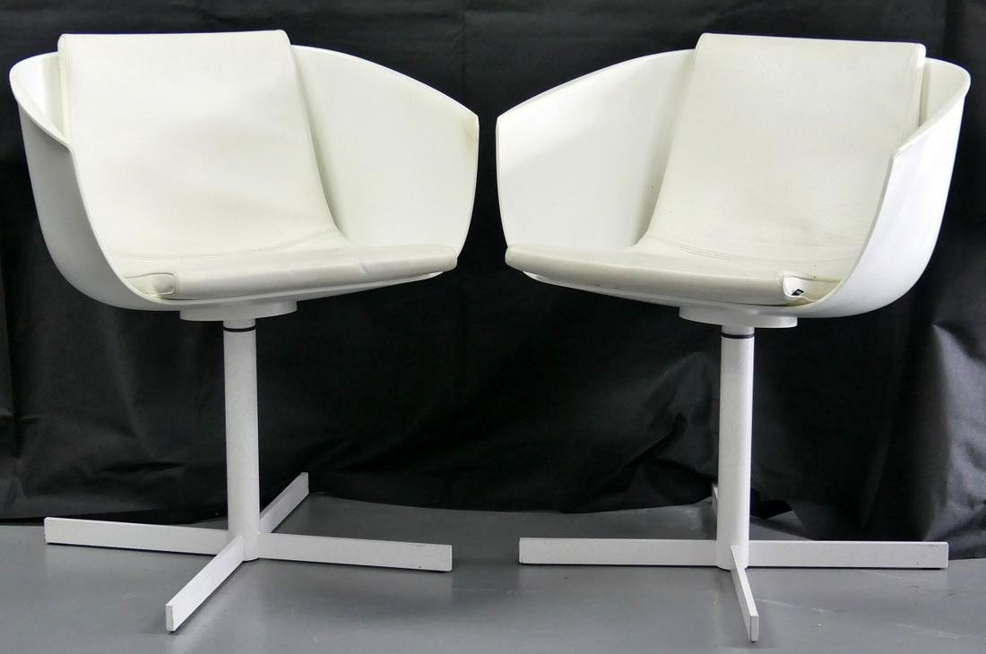 PR CARLO COLOMBO FOR POLIFORM ARMCHAIRS