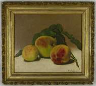 P. A. DANIELS 'STILL LIFE' OIL PAINTING ON CANVAS