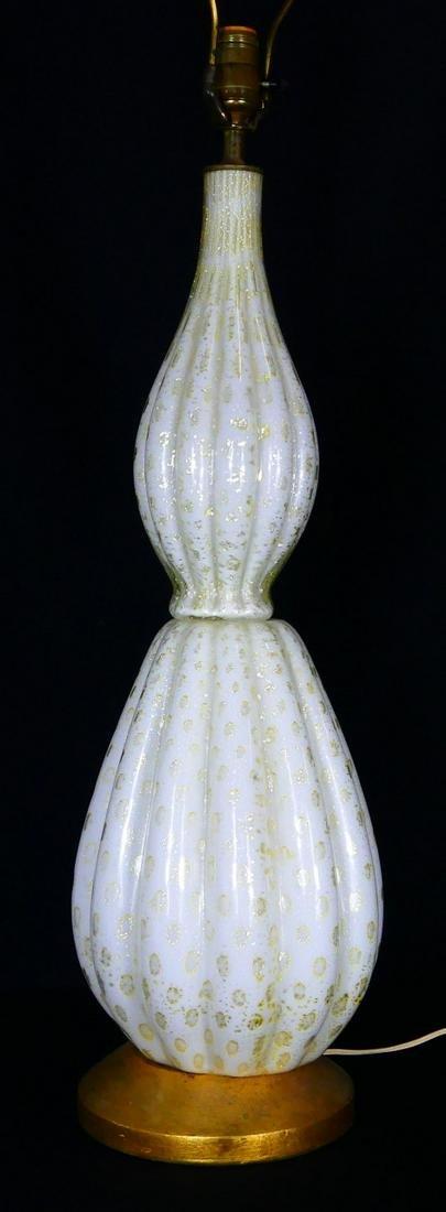 MURANO GLASS VINTAGE LAMP ATTR BAROVIER & TOSO