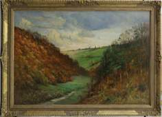 AFTER COROT OIL PAINTING ON CANVAS