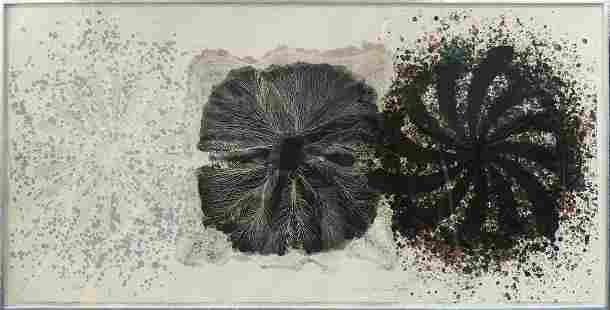 JAMES ROSENQUIST 'BLACK TIE' LITHOGRAPH