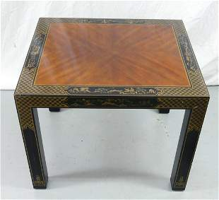 DREXEL ET CETERA CHINOISERIE SIDE TABLE