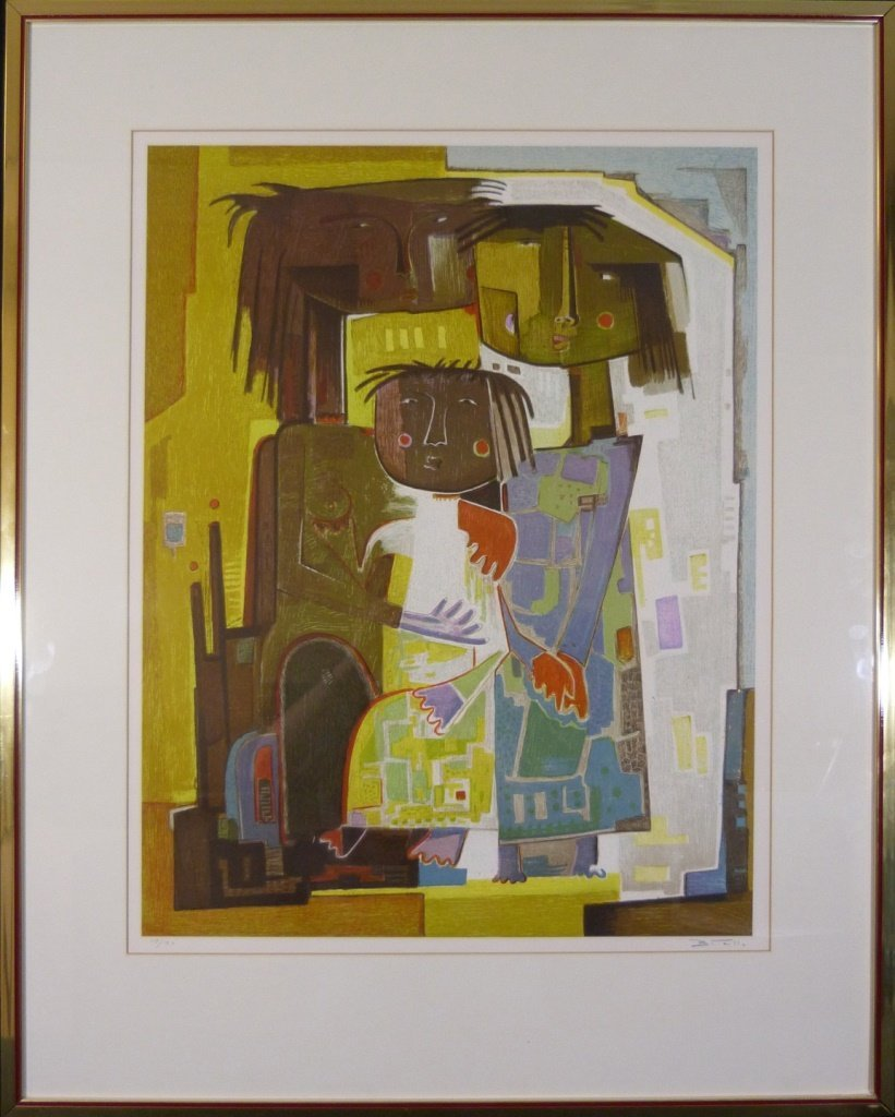 ANGEL BOTELLO LITHOGRAPH SIGNED & NUMBERED 117/150