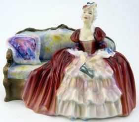 """Royal Doulton """"belle O'the Ball"""" Porcelain Figure"""