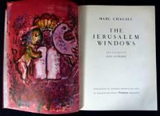 "MARC CHAGALL ""JERUSALEM WINDOWS"" ORIGINAL BOOK"