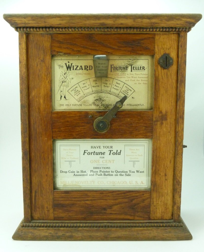 MILLS NOVELTY CO THE WIZARD FORTUNE TELLER