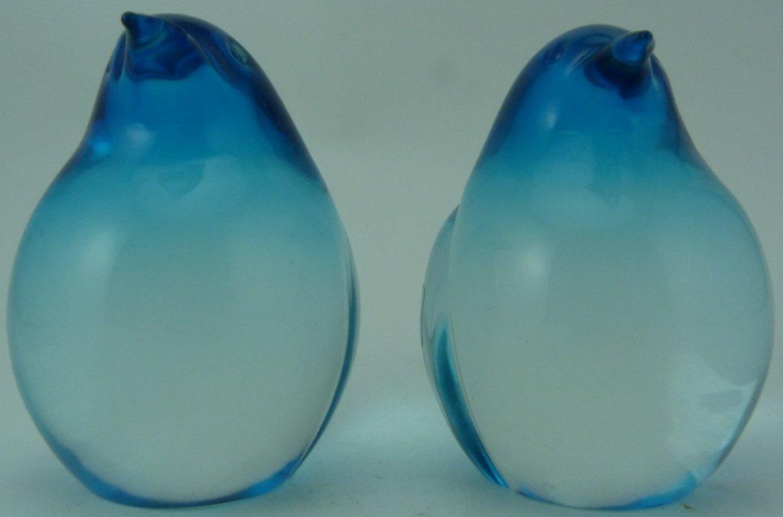 OGGETTI ITALIAN ART GLASS PENGUIN PAPERWEIGHTS - 2