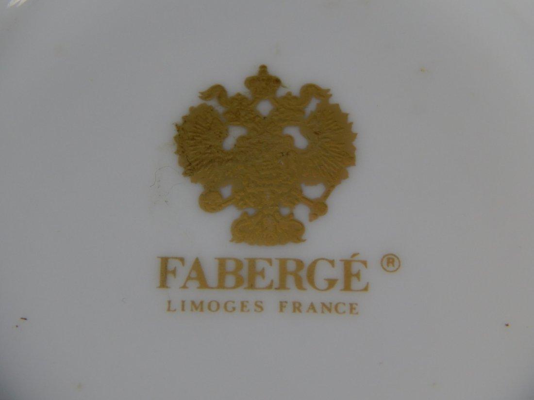 FABERGE LIMOGES FRANCE PORCELAIN VASE - 8