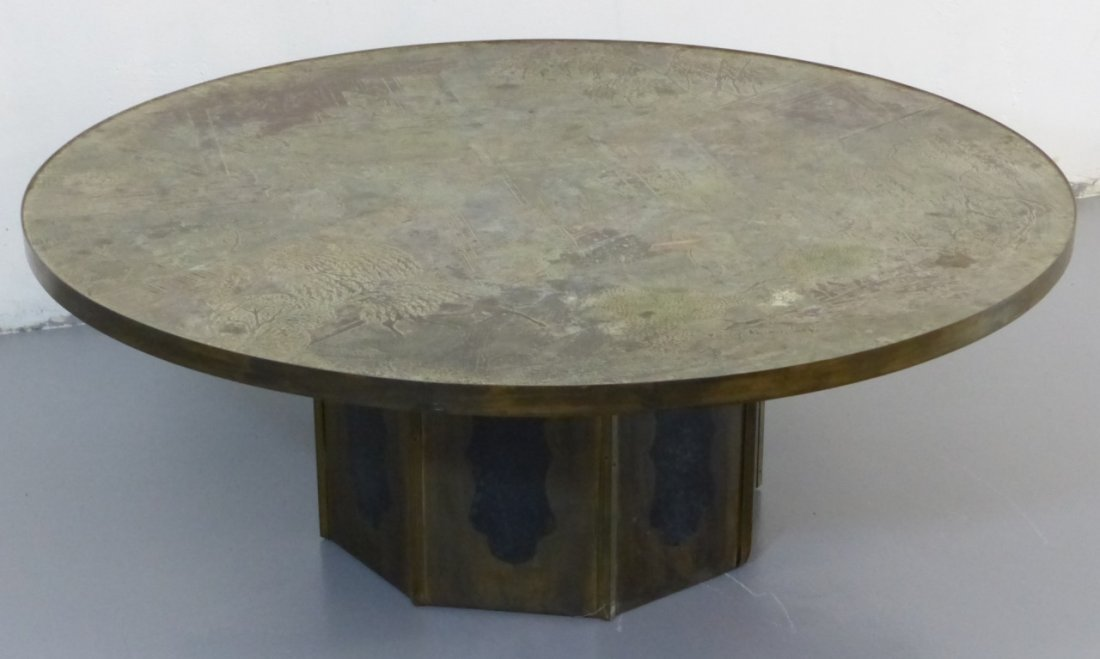 """PHILIP & KELVIN LAVERNE """"CHAN"""" 1960s COFFEE TABLE"""