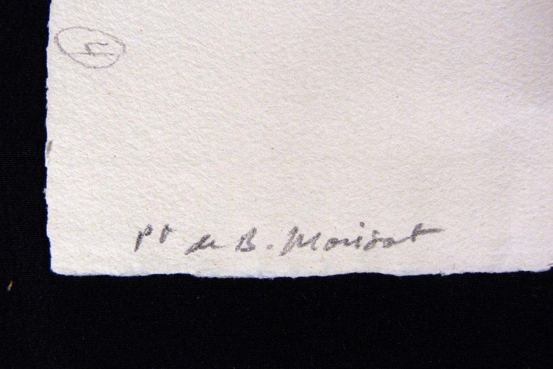 PIERRE AUGUSTE RENOIR ETCHING OF BERTHE MORISOT - 5