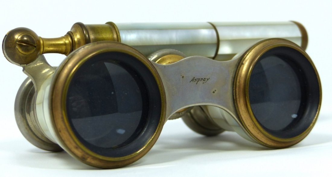 VINTAGE ASPREY MOTHER OF PEARL OPERA GLASSES
