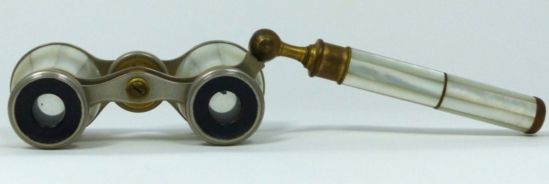 VINTAGE ASPREY MOTHER OF PEARL OPERA GLASSES - 5