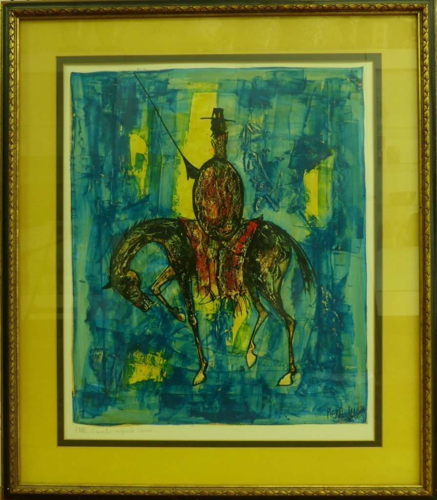PIERRE MAS ORIGINAL SIGNED GOUACHE