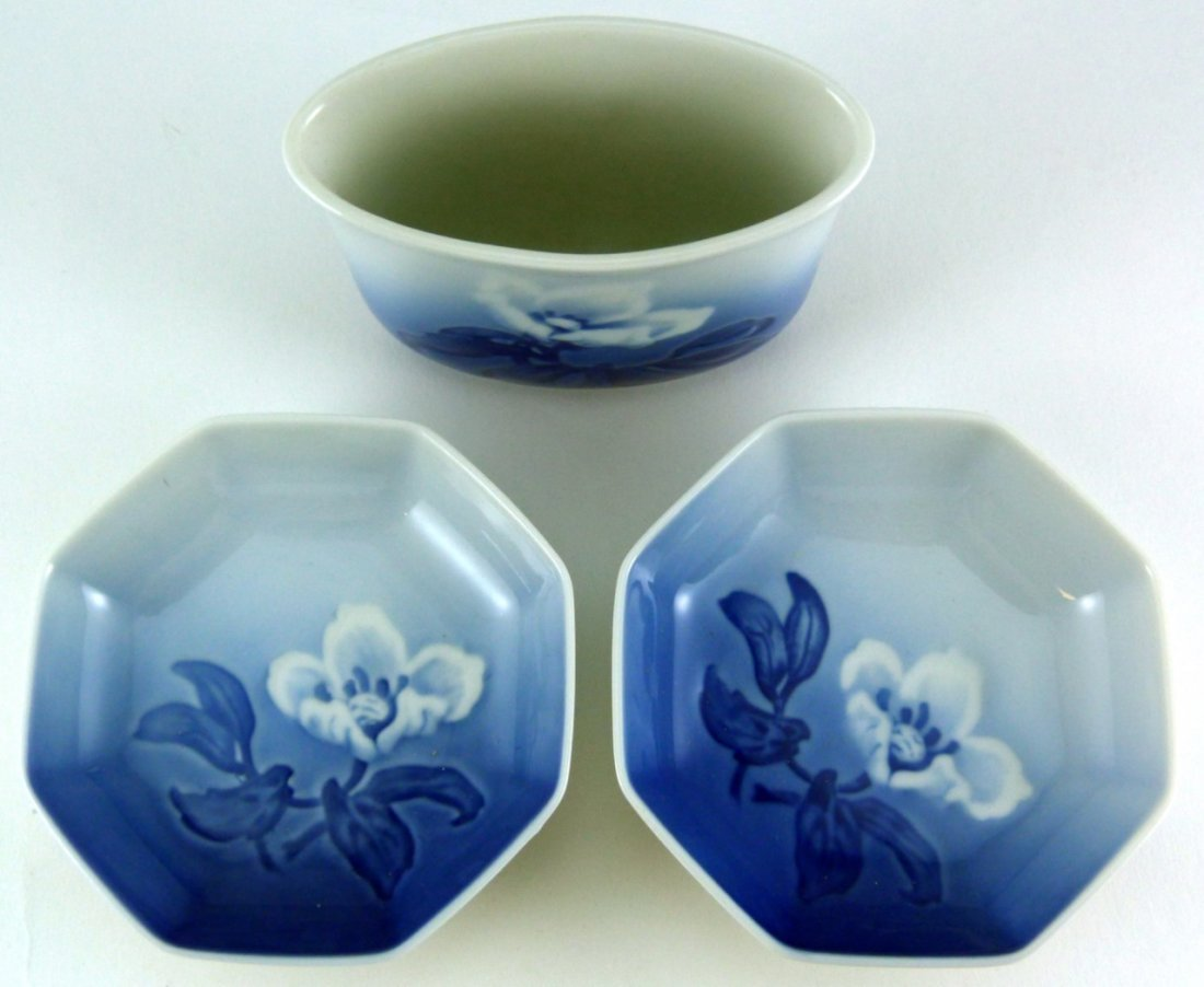 4pc ROYAL COPENHAGEN B&G DANISH PORCELAIN - 7
