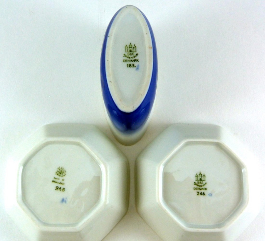 4pc ROYAL COPENHAGEN B&G DANISH PORCELAIN - 9