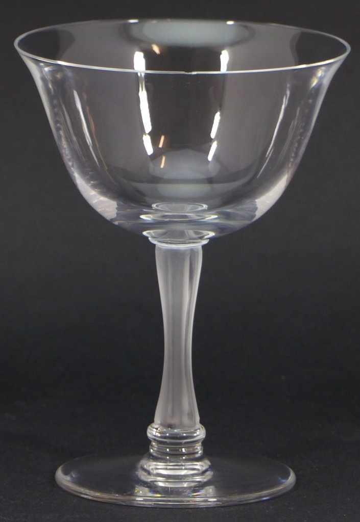 11pc LALIQUE FRANCE CRYSTAL SHERBET GLASSES - 3