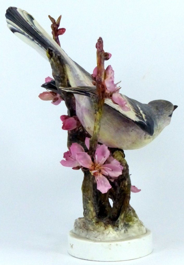 PAIR ROYAL WORCESTER LIMITED EDITION BIRD FIGURES - 10