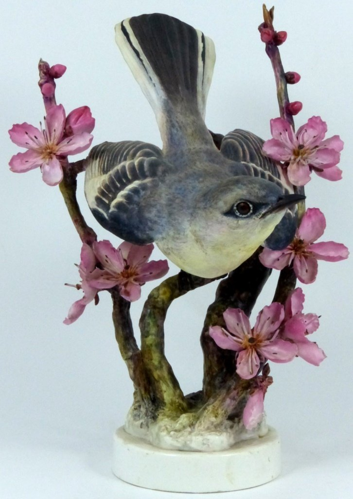 PAIR ROYAL WORCESTER LIMITED EDITION BIRD FIGURES - 9