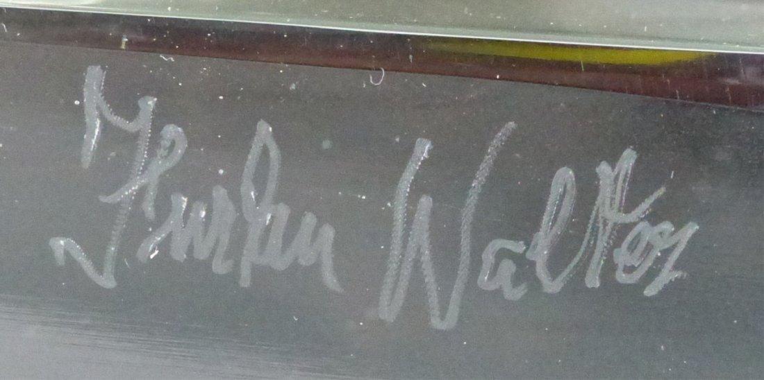 WALTER FURLAN PICASSO MURANO GLASS SCULPTURE - 4