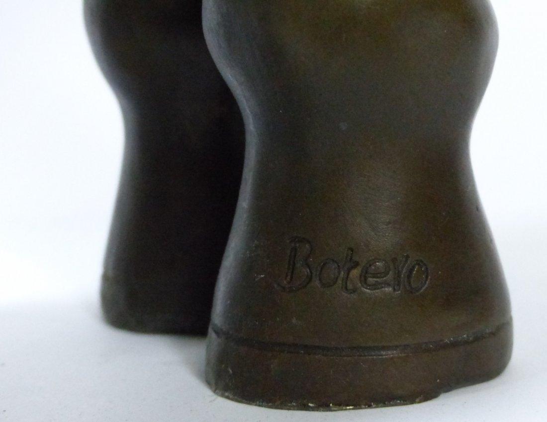 FERNANDO BOTERO BRONZE SCULPTURE OF TROJAN HORSE - 5