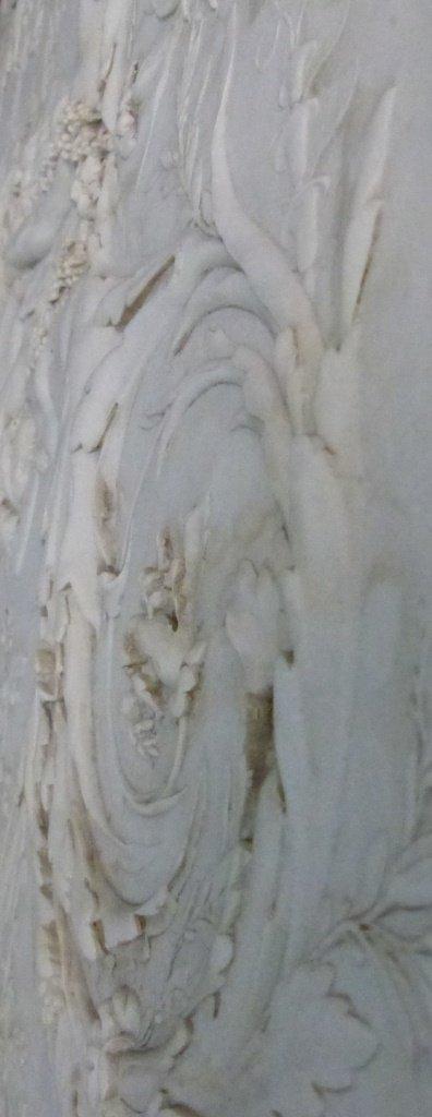 CONTINENTAL MARBLE RELIEF PLAQUE w ROMAN SCENE - 8