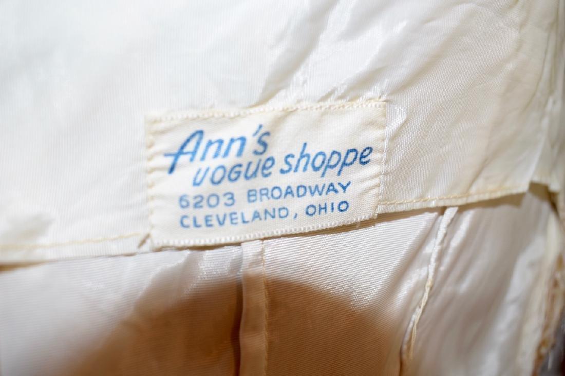 Vintage 1950s Gold Sequin Anne Shoppe Gown - 9