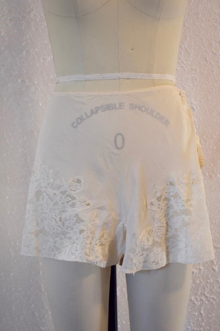 Vintage Silk Lace Ivory Undies