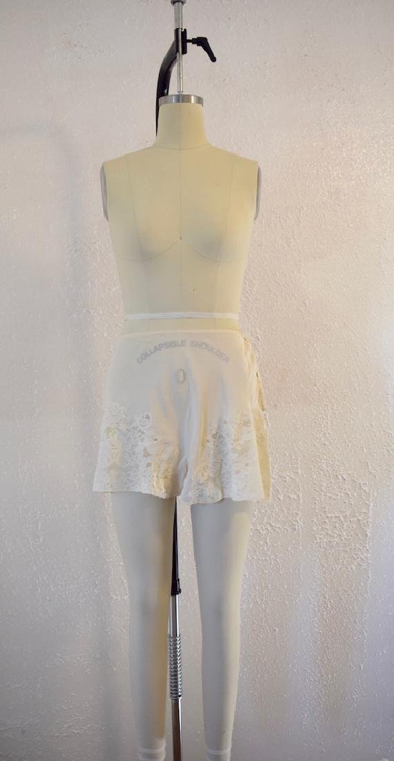 Vintage Silk Lace Ivory Undies - 2