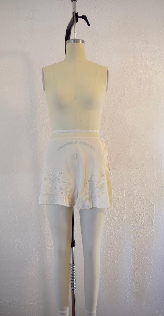Vintage Silk Lace Ivory Undies - 2