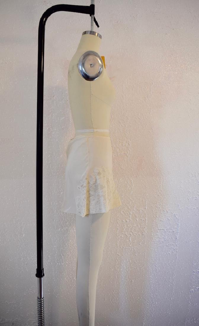 Vintage Silk Lace Ivory Undies - 3