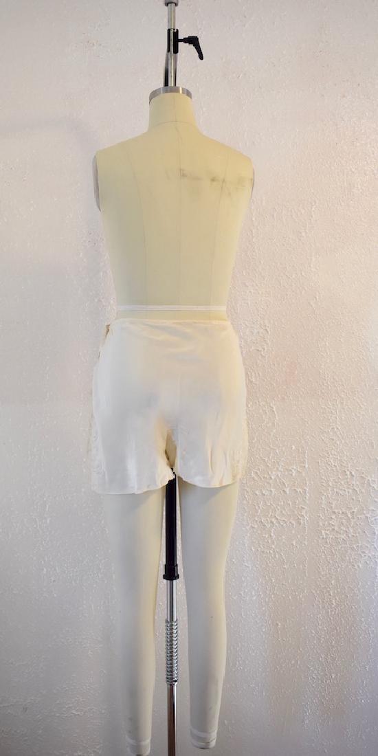 Vintage Silk Lace Ivory Undies - 6