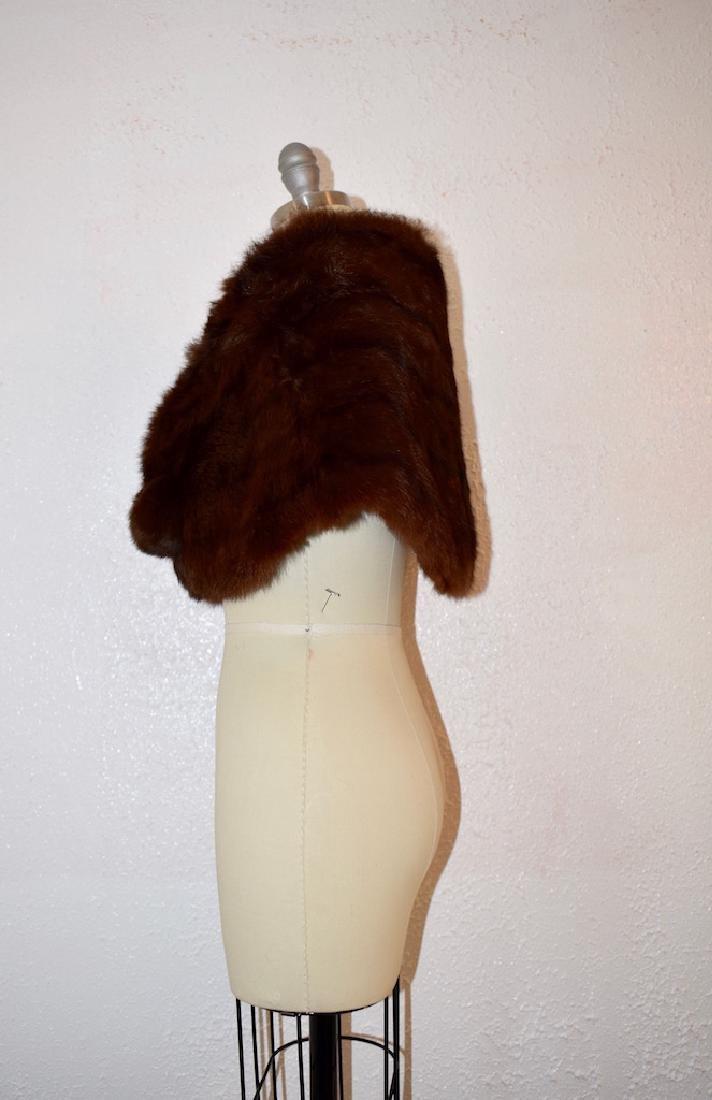 Vintage Faux Fur Cape - 4