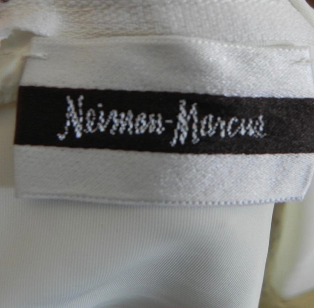 Vintage 1970s Neiman Marcus White Ivory Lace Cotton - 9