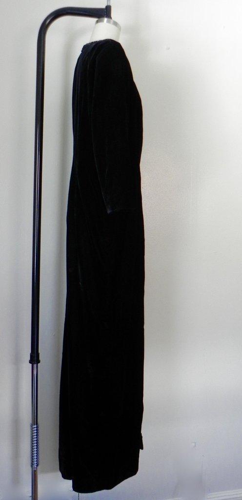 Vintage Yves Saint Laurent  Rive Gauche Black Gown - 3