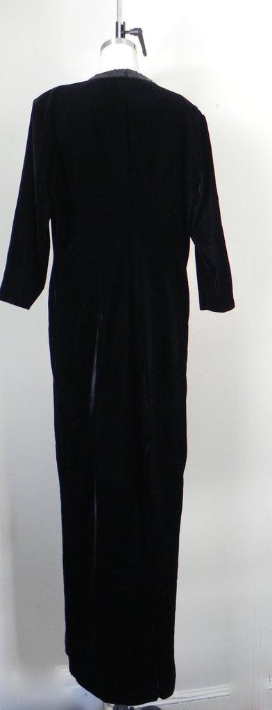 Vintage Yves Saint Laurent  Rive Gauche Black Gown - 4
