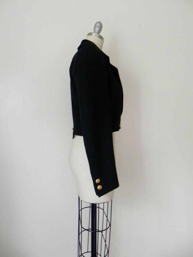 Vintage Inspired Black Escada Blazer - 3
