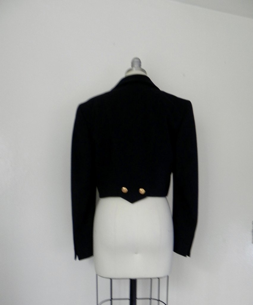 Vintage Inspired Black Escada Blazer - 4