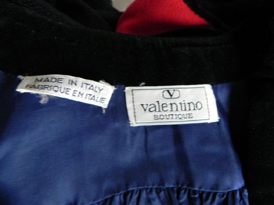 Vintage 1980s Valentino Cobalt Blue Wool Evening Jacket - 6