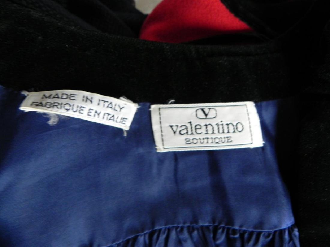 Vintage 1980s Valentino Cobalt Blue Wool Evening Jacket - 6