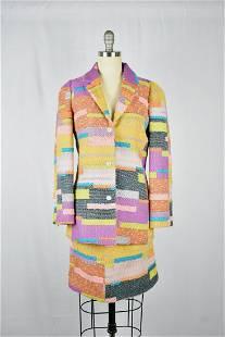 Christian Lacroix Multicolor Suit/ Jacket & Skirt