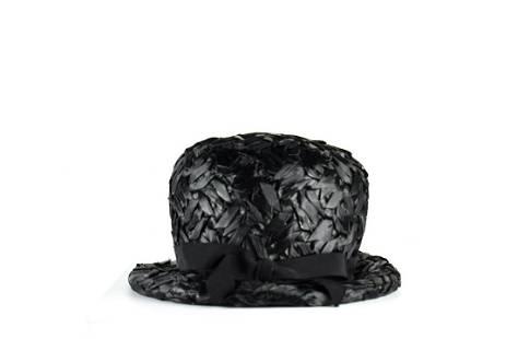 Vintage 1960s Parkridge Exclusives Raffia Hat