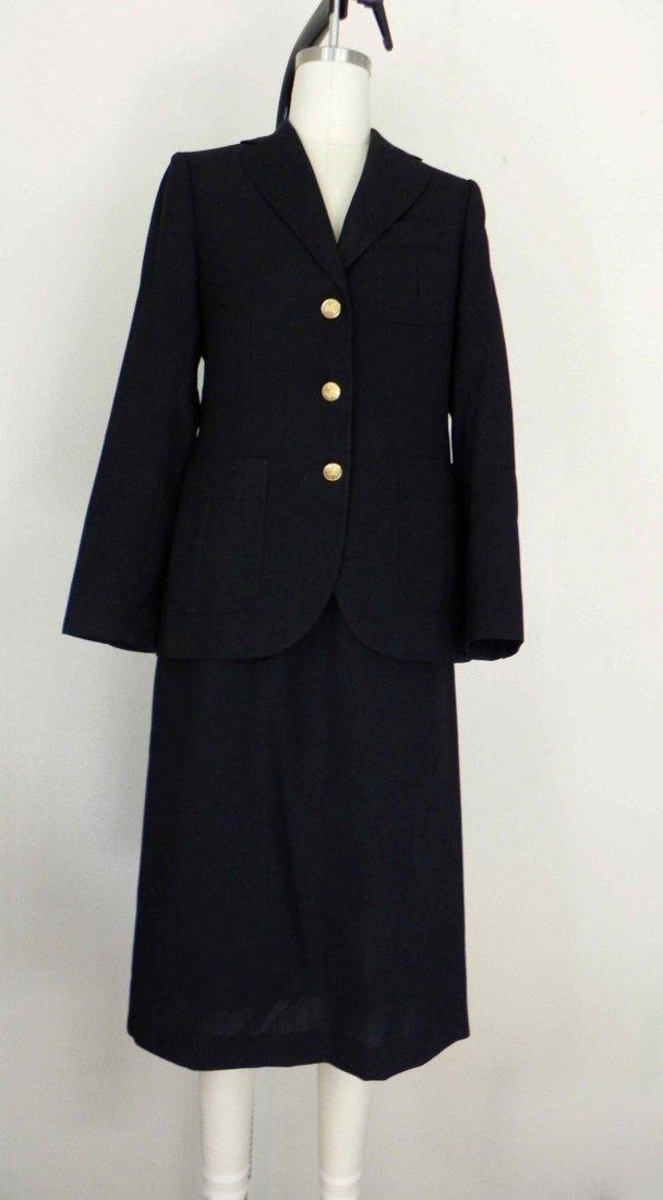 1960s Stanley Blacker 2 Piece Wool/Linen Suit Jacket
