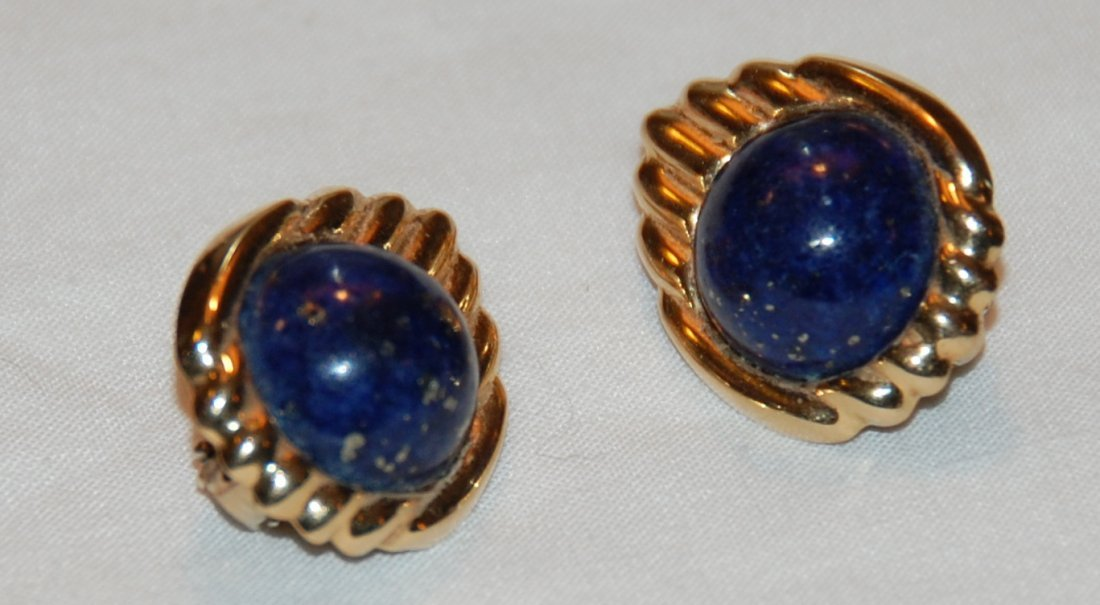 14kt Lapis Earrings