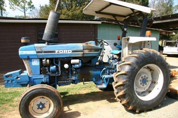 3: FORD 5610 TRACTOR