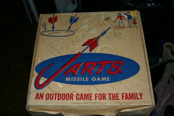 136: Jarts Missile Collectible Game