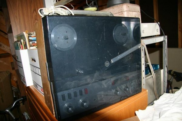 139: Revox Tape Machine
