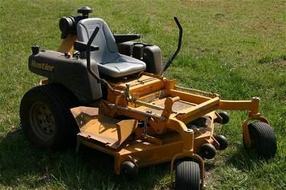 143: Hustler Zero Turn Lawn Mower Tractor