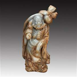 A Tang Dynasty He Tian White Jade Damour State